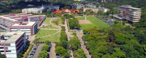 Imagem mostra a Universidade Federal de Minas Gerais (UFMG), que está nas proximidades do Le Jardin, na região da Pampulha.